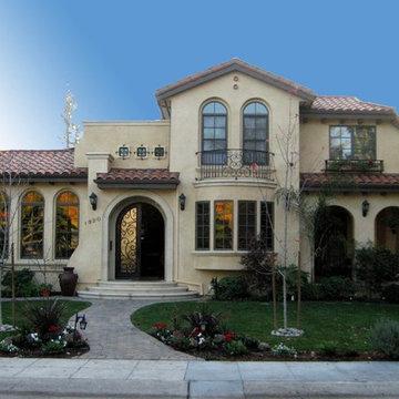Palo Alto spanish style house