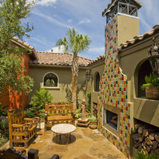 Eclectic Exterior by Kyle Lindsey Custom Homes