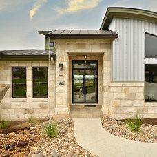 Contemporary Exterior by Pillar Custom Homes, Inc.