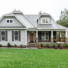 Craftsman Exterior by Cimarron Homes