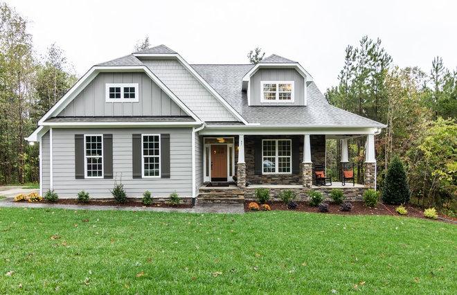 Craftsman Exterior by Cimarron Homes