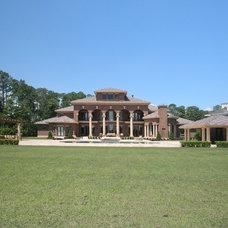 Traditional Exterior by Victoria Martoccia Custom Construction, Inc