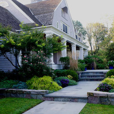 Traditional Exterior by Amy Martin Landscape Design