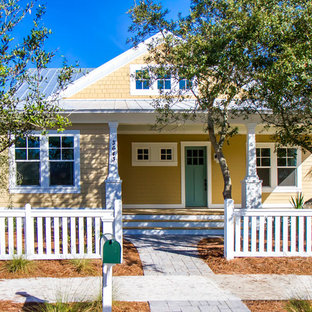 75 most popular yellow exterior home design ideas for 2019 stylish