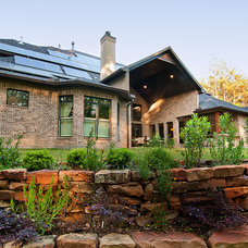 Traditional Exterior by Keechi Creek Builders