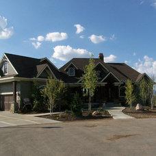 Rustic Exterior by Utah Design Build LLC