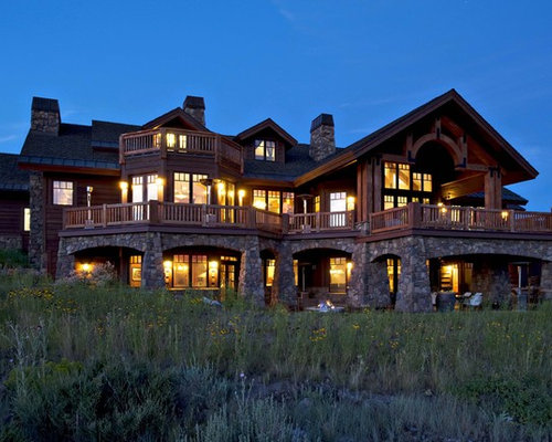 Park city utah mountain estate by markay johnson construction for Big amazing houses
