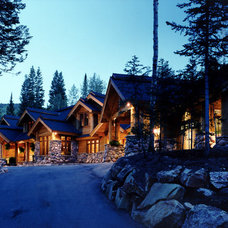 Rustic Exterior by Highland Group