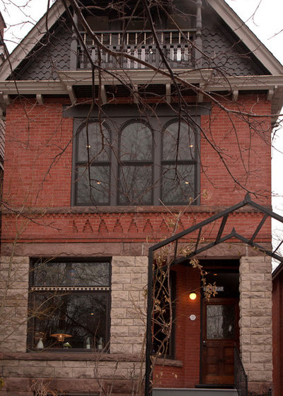 Traditional Exterior by Jenn Hannotte / Hannotte Interiors