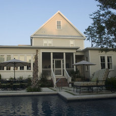 Traditional Exterior by Allison Ramsey Architects