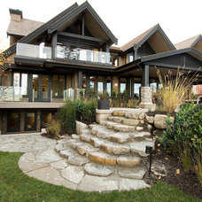 Transitional Exterior by Erica Winterfield Design