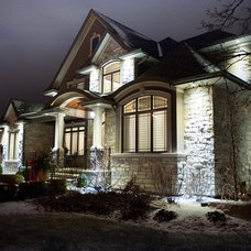 Transitional Exterior by Desousa Homes