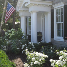 Traditional Exterior by Hillary W Taylor Interiors