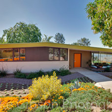Midcentury Exterior by Luke Gibson Photography