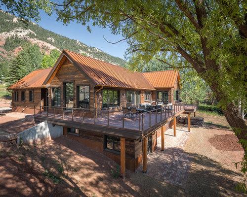 Rustic Exterior Home Design Ideas Remodels Amp Photos