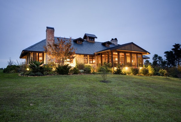 Traditional Exterior by Urban Home Magazine