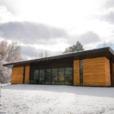 Contemporary Exterior by Imbue Design
