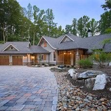 Traditional Exterior by BlueStone Construction, LLC