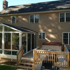Traditional Exterior by Patio Enclosures by Great Day Improvements, LLC