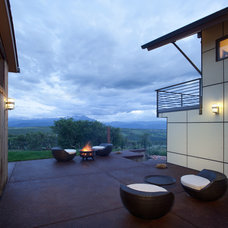 Contemporary Exterior by Forum Phi - Architecture | Interiors | Planning