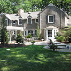 Traditional Exterior by Thompson Landscape and Design