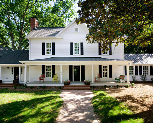 White House Black Shutters Home Design Ideas Pictures