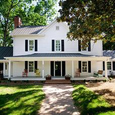 Farmhouse Exterior by Successful Staging/Bobbie McGrath