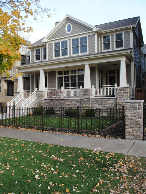 Hardie monterey taupe ideas pictures remodel and decor for Craftsman colonial style homes