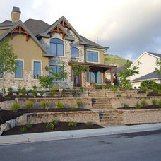 Traditional Exterior by Decorative Landscaping