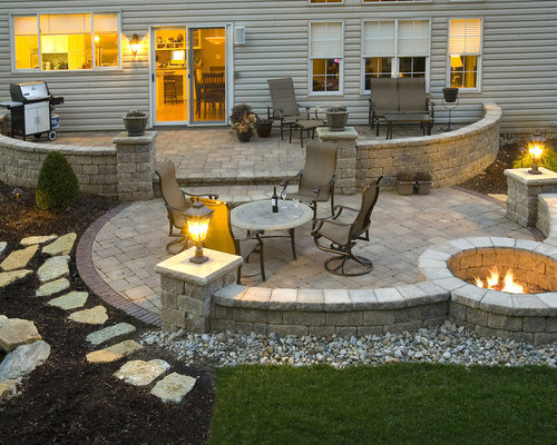 paver patio photos
