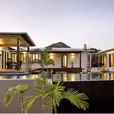 Asian Exterior by SBT Designs