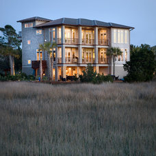 Beach Style Exterior by Tych & Walker Architects