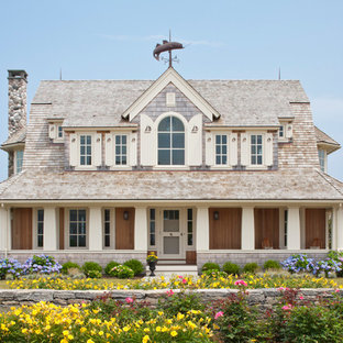 Peace of the Rock - Shingle Style Beach House on Cape Cod, MA Custom Home