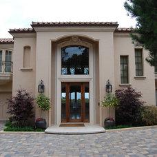 Mediterranean Exterior by Zeterre Landscape Architecture
