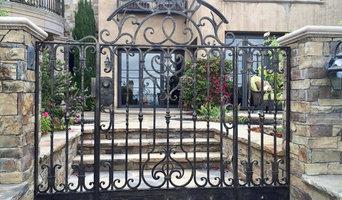 Pedestrian Hand Forged Gates