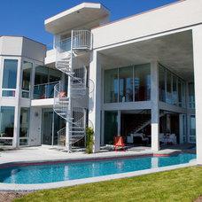 Contemporary Exterior by Dupuis Design