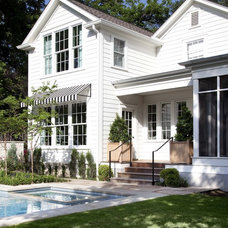Traditional Exterior by Tim Cuppett Architects