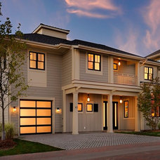 Contemporary Exterior by Bouwkamp Builders, Inc.