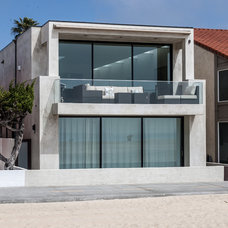 Beach Style Exterior by Christiano Homes, Inc.
