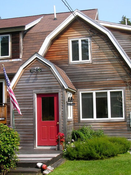 Traditional Exterior Penobscot Bay Cottage
