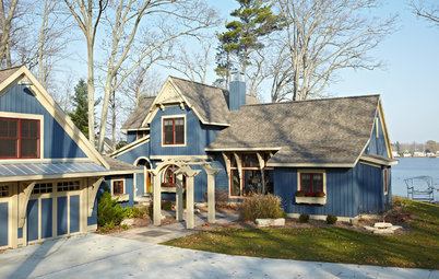 Houzz Tour: Historical Details Charm in a Lakeside Michigan Home