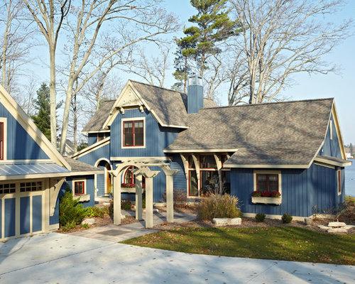Best Cottage Exterior Color Design IdeasRemodel PicturesHouzz