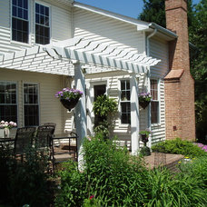 Traditional Exterior by Creative Deck Designs