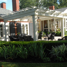 Traditional Exterior by Inside Out Design, LLC