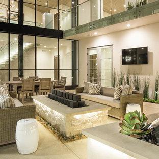 Einstöckiges Modernes Haus in Orange County