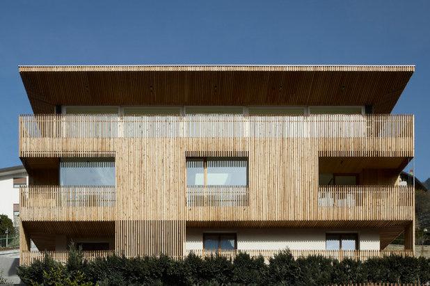 Holzfassaden Bretter Die Die Welt Bedeuten
