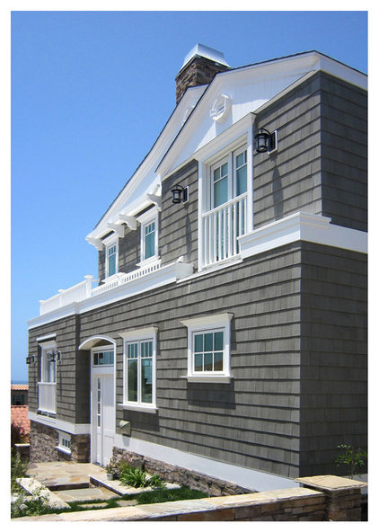 Beach Style Exterior by PK Architecture; Phillip Kudelka