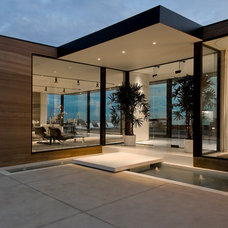 Contemporary Exterior by William MacCollum Architectural Photography