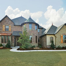 Traditional Exterior by Silver Stone Homes LLC