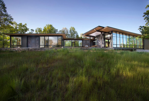 Modern Exterior by Carlton Architecture